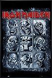 Close Up Iron Maiden Poster Eddie's Evolution (93x62 cm)