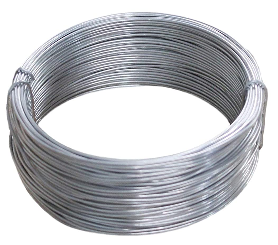 16 Ga -100 Ft Coil Aluminum Wire for Sculpting, Armature, Jewelry Making, Metal Wrap, Soft,