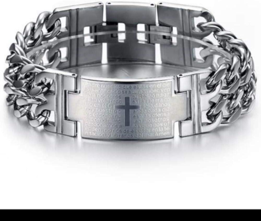 Fashion Jewelry Super In a popularity sale Korean Classic Bible Bracelet Personality Men's