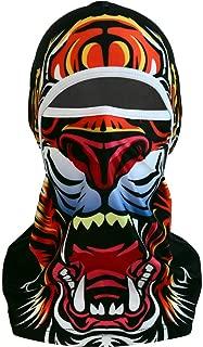 Benflor Balaclava 3D Hoods Neck Gaiter Ski Mask Stretchable Bandanna for Cycling