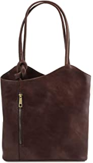 Tuscany Leather Patty Borsa donna in pelle convertibile a zaino