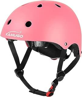 KAMUGO Kids Adjustable Helmet,  Suitable for Toddler Kids Ages 3-8 Boys Girls,  Multi-Sport Safety Cycling Skating Scooter Helmet