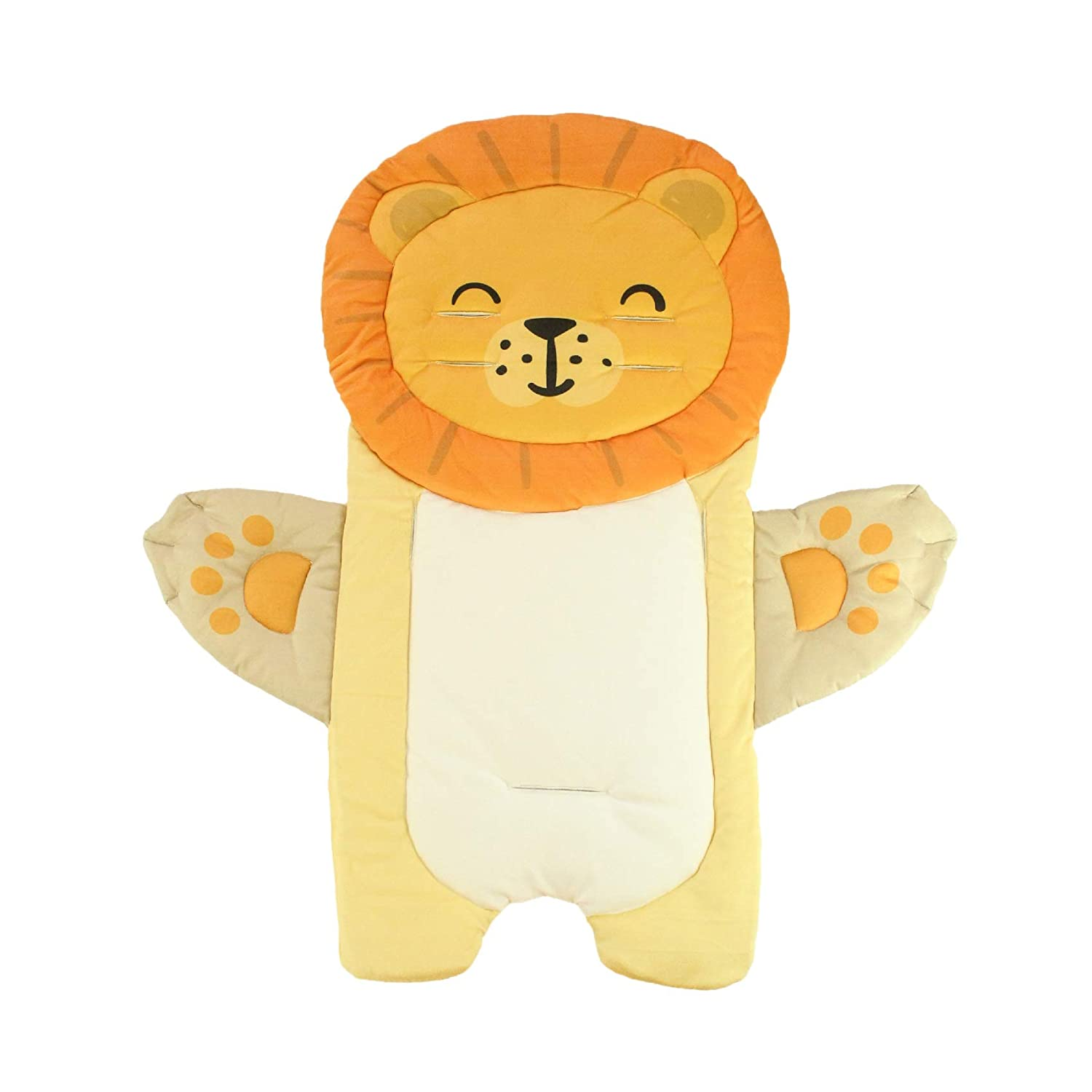 Nifyto Baby Stroller Cushion Pad, Light Infant/Baby Stroller Liner,Cotton Breathable(Lion)