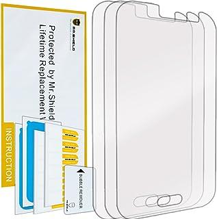 واقي شاشة شفاف ممتاز لهاتف Samsung Galaxy J1 Ace من Mr.Shield [3-خلفي] مع استبدال مدى الحياة