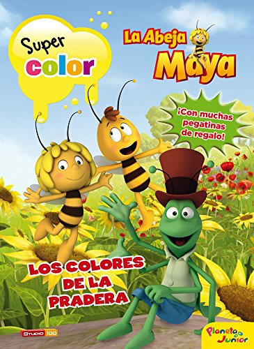 La Abeja Maya. Supercolor: Los colores de la pradera (La Abeja Maya...