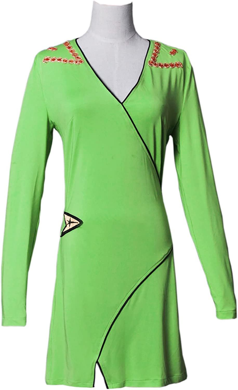XOMO Star Trek Cosplay Ranking TOP1 A surprise price is realized Wrap TOS Green Costume