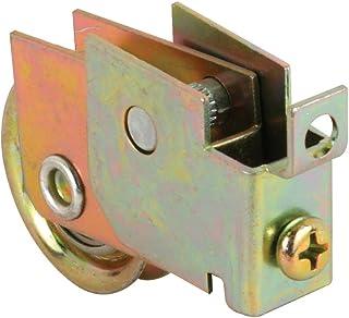 Prime-Line Products D 1773 Conjunto de rolo de porta deslizante, rolamento de esferas de aço de 3,8 cm, rebites alinhados