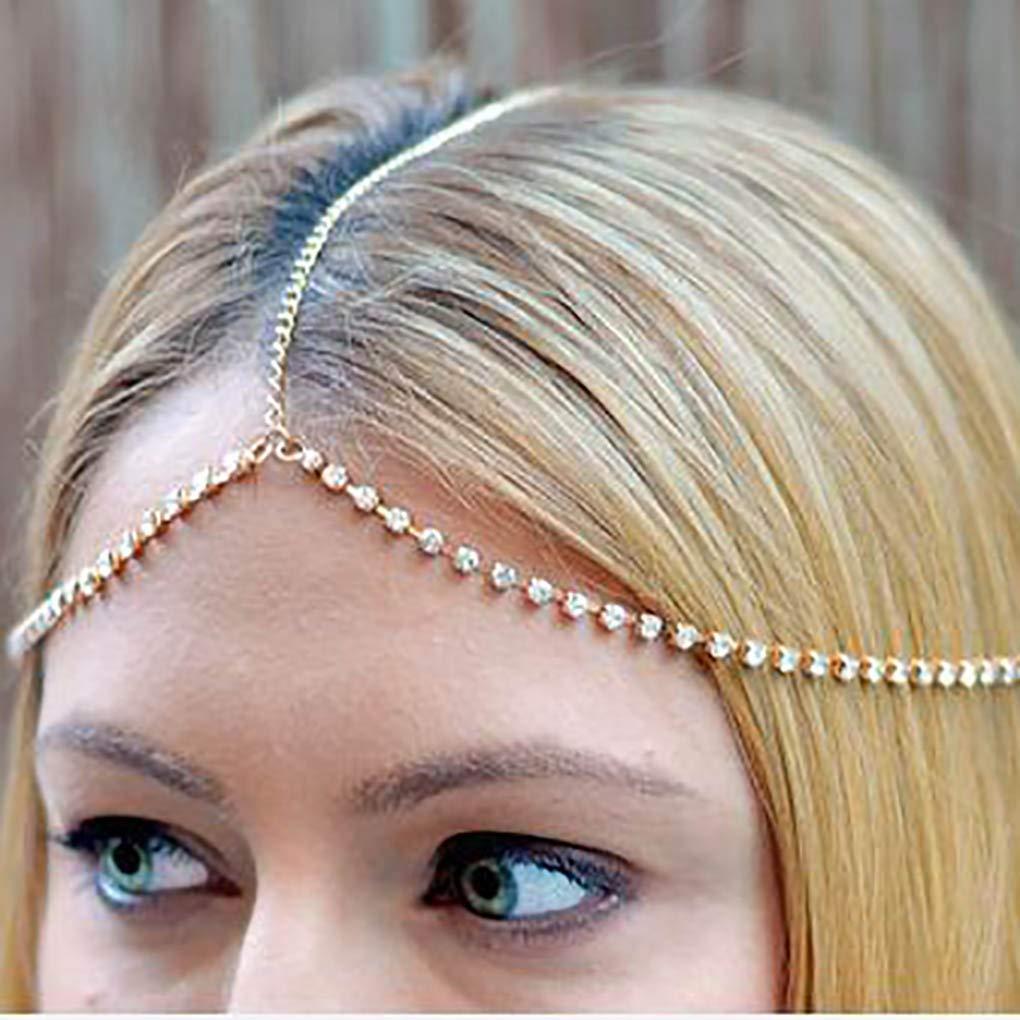 bohemian bridal headpiece hair chain jewelry White head chain bridal hair chain head chain white headpiece chain hair jewelry