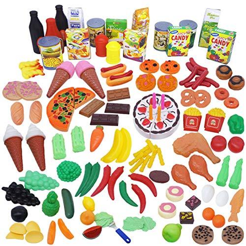 Niños Cocina Plástico Juguetes,Hijos Educativo Juego Set, No Tóxico, No Olor Respetuoso Ambiente,Desarrollar Niño Creatividad Pensamiento Mano Ojo Coordinación,A
