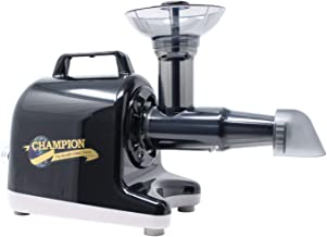 Champion Professional 5000 Dual Auger Variable Speed Masticating Juicer - Midnight Black