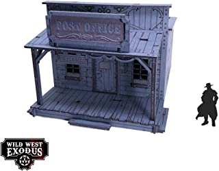 Wild West Exodus - Terrain 28mm Red Oak - Post Office SW