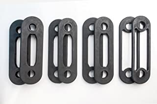 Bodykore Replacement Band Set for Body by Jake Machines- 3 Pairs (2) 10lb Bands + (2) 5lb Band + (2) 2.5lb Band