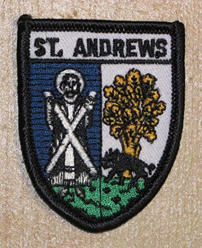 St. Andrews Fife Imperméable écossais Écusson brodé Flag Patch