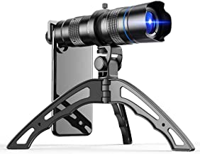 Apexel HD 20-40X Zoom Lens with Tripod Telephoto Mobile Phone Lens Telescope for iPhone Samsung Other Smartphones Hunting ...