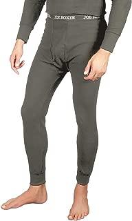 Men's Thermal Pants - Long John Bottoms (Waffle Knit) - 2 Pack