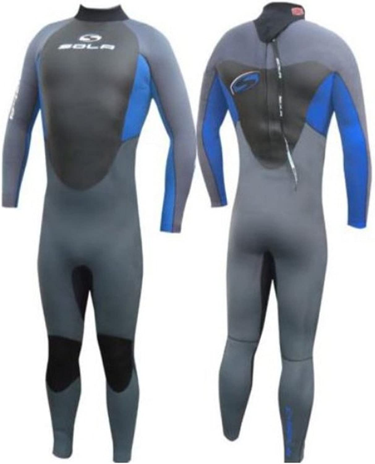 Sola Fusion GBS 5mm Neoprene Mens Full Winter Wetsuit surfing sailing