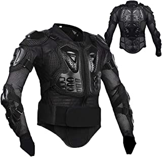 Motorcycle Full Body Armor Protective Gear Jacket...