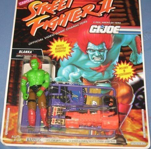 "G.I. Joe Street Fighter II 3 Blanka Jungle Fighter 3 3/4"" Action Figure"