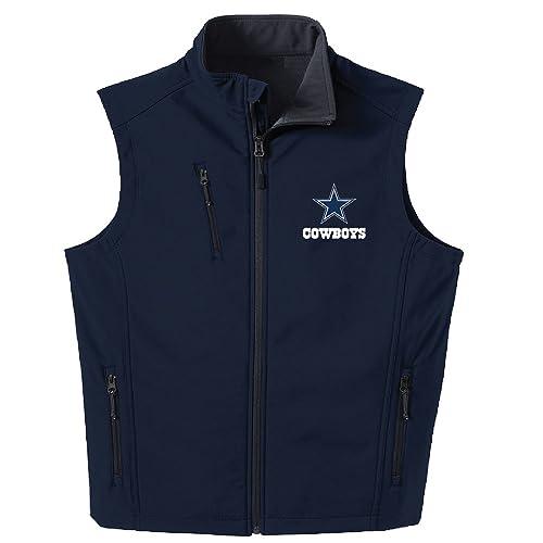 finest selection a6db8 466b2 Dallas Cowboys Men's Apparel Jacket: Amazon.com