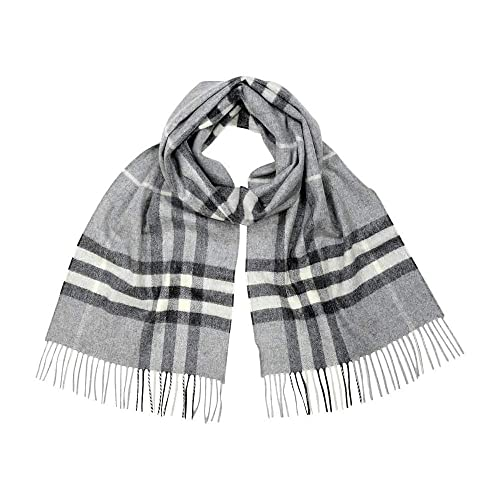 d3c9a11a1a99 Burberry Women s Classic Check Scarf Pale Grey