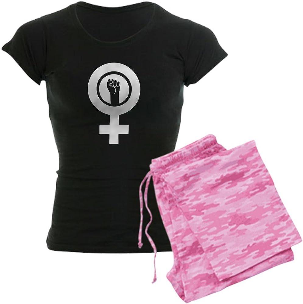 CafePress Feminist Power Womens PJs
