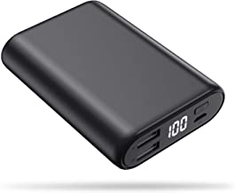 Portable Charger Power Bank 16800mAh, Feob High-Speed Charging Battery Pack with LCD Digital Display, Ultra-Small Mini Portable Phone Charger for Smart Phone, Android Phone, Tablet and More - Black