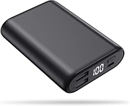 $21 » Portable Charger Power Bank 16800mAh, Feob High-Speed Charging Battery Pack with LCD Digital Display, Ultra-Small Mini Portable Phone Charger for Smart Phone, Android Phone, Tablet and More - Black