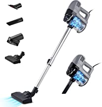 UBEGOOD Stick Vacuum Cleaner, Lightweight Vacuum Cleaner 500W Strong Suction, Handheld Corded Vacuum Cleaner for Home Hard...