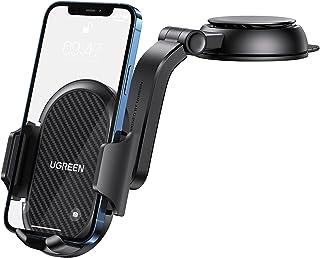 UGREEN Auto Telefoonhouder Draagbare deur Auto Dashboard 360 Graden Rotatie Compatibel met iPhone 12 Pro Max 11 X 8 7 Gala...