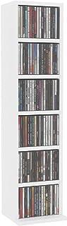 Estanterías para CD DVD Gabinete para CD con 6 cajones - Soporte para discos, gabinete de colección de alta capacidad de p...