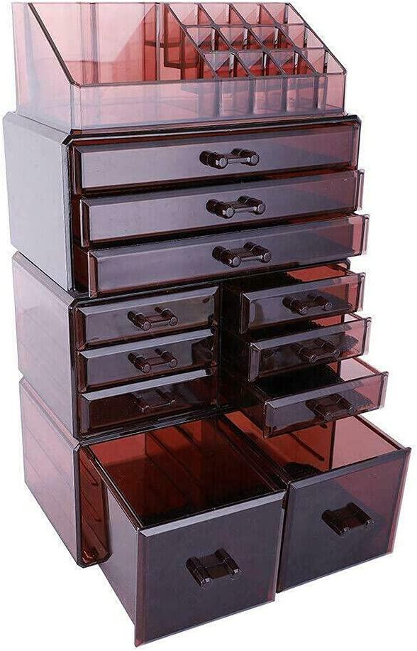11 Drawers Containers Low price Cosmetic Storag Organizer Lipstick Large discharge sale Jewelry