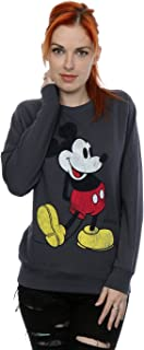 Disney Women's Mickey Mouse Classic Kick Sweatshirt