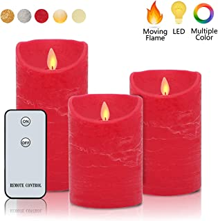 Flameless Candles Flickering Dancing Flame H4