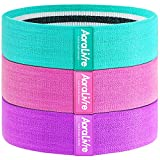 Aora Livre Fabric Resistance Bands Non Slip Booty Bands...