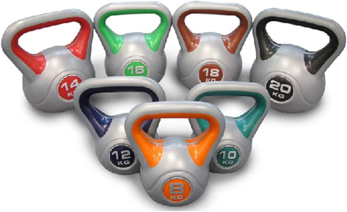 OFFicial Ranking TOP9 site aiyu Vinyl Coated Kettlebells Solid Weights Professi Cast Iron