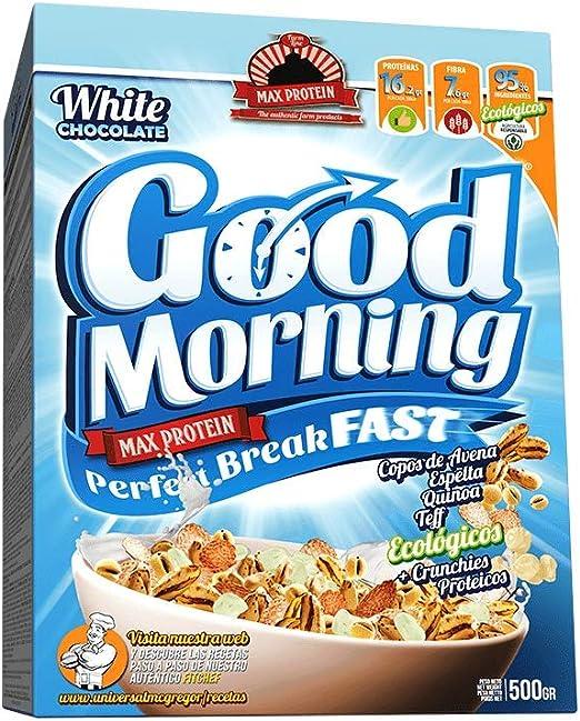 Max Protein Good Morning Perfect Breakfast Dark Chocolate 500G 500 g