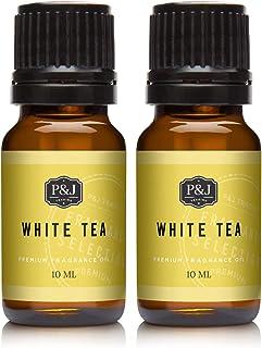 White Tea Fragrance Oil - Premium Grade Scented Oil - 10ml - 2-Pack
