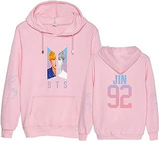 Kpop BTS Love Yourself Answer Hoodie Suga Rap-Monster Unisex Pullover for Women Sweatshirt