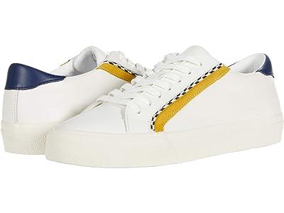 Madewell Sidewalk Low Top Sneaker in Bunjee Block (Nectar Gold Multi) Women