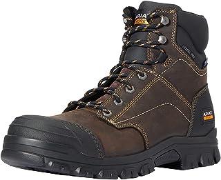 حذاء عمل برقبة للرجال من ARIAT مقاس 15.24 سم مقاوم للماء من الصلب
