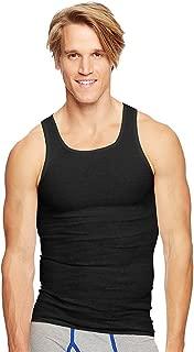 Hanes Classics Men's Tagless ComfortSoft Dyed A-Shirt 4-Pack