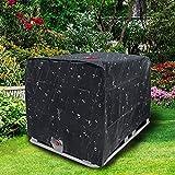 Folienabdeckung Sonnenschutzhaube für Regenwassertank 600 L...