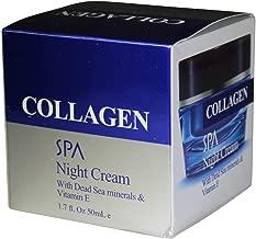 Spa Cosmetic Collagen Night Cream with Dead Sea &Vitamin E -1.fl.oz