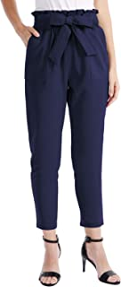 Women's Leisure High Waist Pants Autumn Wide Leg Trousers Party Outdoor