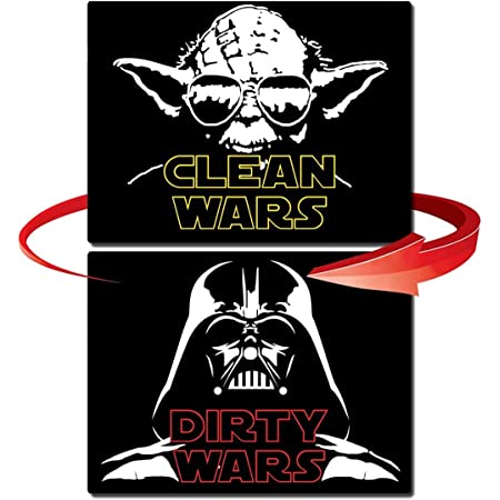 Clean Dirty Dishwasher Star Wars Stormtrooper Reversible Magnetic Dishwasher Sign Clean and Dirty Stormtrooper Geek Kitchen