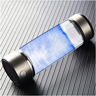 Water Hydrogen Bottle Rich,Electrolysis Cup USB Rechargeable Quantum Hydrogen-Rich Water Glass Water Glass Cup Health Cup ...