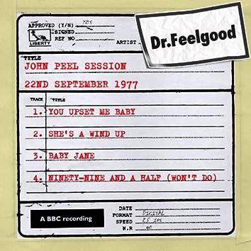 Dr Feelgood - BBC John Peel session (22nd September 1977)