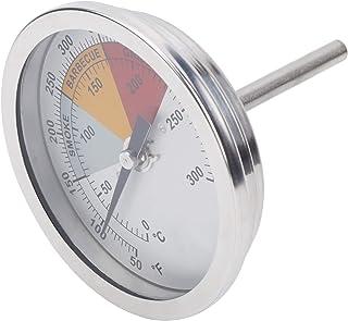 Indicatore del termometro per barbecue da 3,3 pollici, misuratore della temperatura del fumatore a doppia scala 50-500 ℉ /...