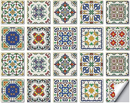 Pegatinas de Azulejos Tile Foil para baño Cocina Azulejos de Mosaico Azulejos autoadhesivos Azulejos de Mosaico Azulejos de Pared de Mosaico Baño Adhesivo Foil Cocina Baño Deco Pegatina de azulejo