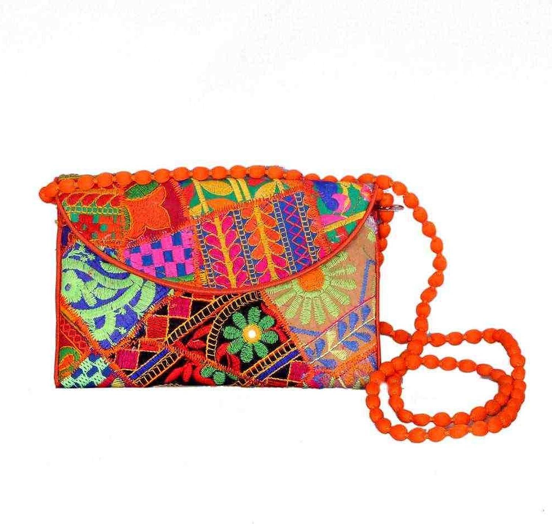 Wholesale 50 pc lot Bulk Indian Vintage Hand Bag Traditional Bridal Clutch Beaded Shoulder Bag potli Pouch Hand Bag Purses Women Purse by Craft place-67